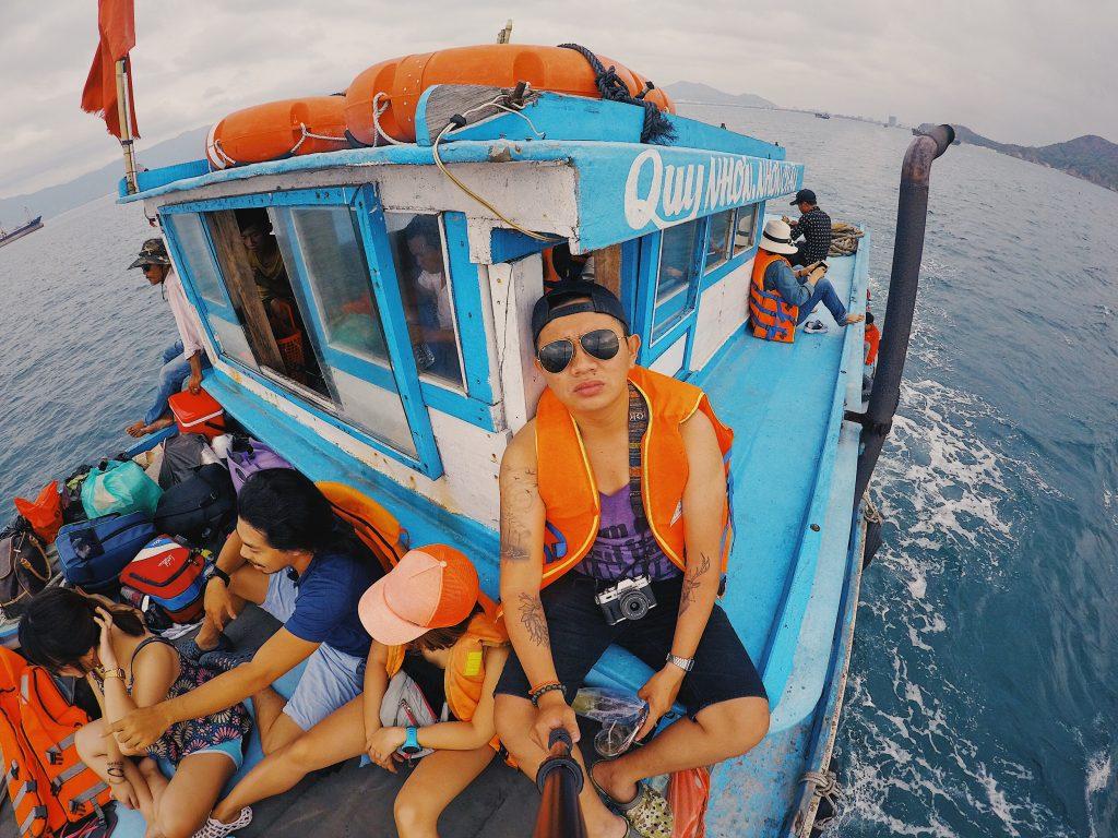 Tour Cù Lao Xanh 2N1Đ bằng tàu gỗ